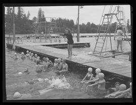 Swimming classes at Blue Lake