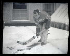 Hank Campbell, hockey player for Multnomah Camp