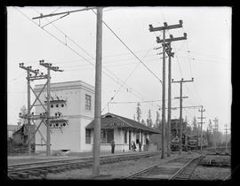 Depot and substation at Beaver Creek