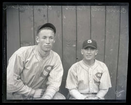 Cunningham and Chamberlain, baseball players