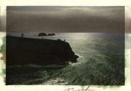Cape Meares Lighthouse, Oregon Coast, circa 1908
