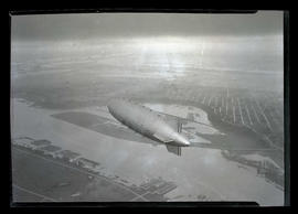 U. S. Navy dirigible Akron over Portland
