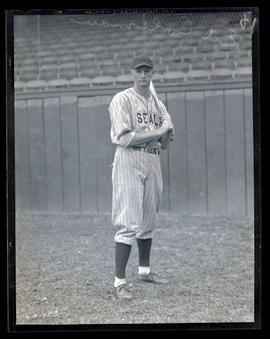Ed Coleman, baseball player for Seals
