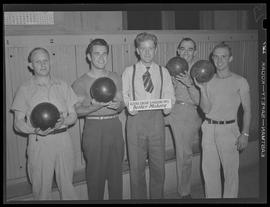 Albina Engine & Machine Works, boiler makers bowling team