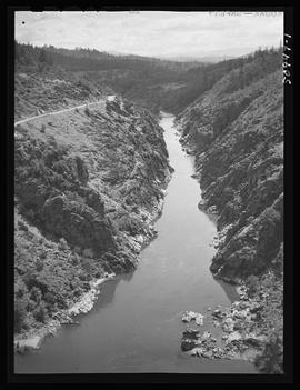 Rogue River aerial view