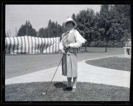 Mrs. A. Gordon Black, golfer