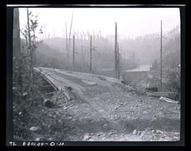 Oak Grove project, old railroad trestle near Cazadero Dam