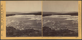 """Mount Hood, from the Dalles, Columbia River."" (Stereograph 1323)"