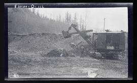 Oak Grove, new electric shovel at Cazadero quarry