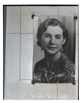 Photograph of murder victim Mildred Hook