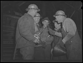 Workers with tools at Oregon Shipbuilding Corporation, Portland