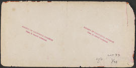 "Verso of, ""Nimrod, Columbia River."" (Stereograph 1235)"