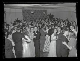 Students dancing at Marylhurst College prom, Multnomah Hotel, Portland, 1943?