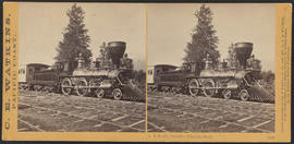 """J.S. Ruckle, Cascades, Columbia River."" (Stereograph 1252)"