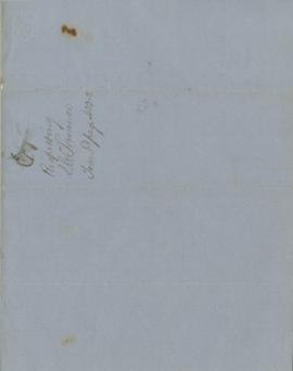 Handwritten copy of a letter from the Office of the Superintendent of Indian Affairs for Oregon T...
