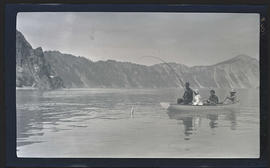 Fishing on Crater Lake