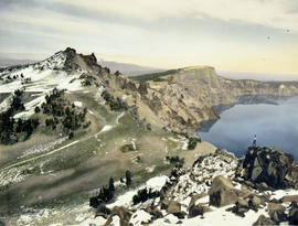 Northwest rim, Crater Lake, Oregon