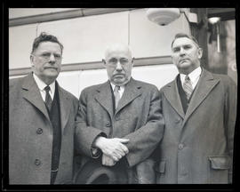 Johnson and two unidentified men