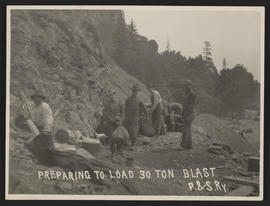 Preparing Blast for Railroad Construction