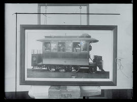 Steam dummy train, Willamette Bridge Railway Company
