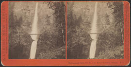 """Multnomah Falls, 700 ft., Col. River Scenery, Oregon."" (Stereograph E3)"