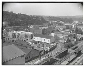View of downtown Oregon City, Oregon