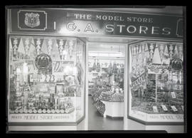 Exterior of Independent Grocers Alliance Model Store, Portland