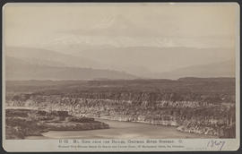 """D62. Mt. Hood from The Dalles, Columbia River Scenery. O."""