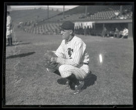 Frank Tobin, baseball player, possibly for Portland