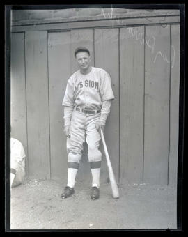 Ray Darrough, baseball player for Mission