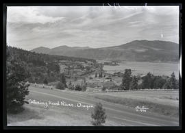 Entering Hood River, Oregon