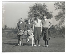 Oscar Willing, Cooper, Mel Smith, and Horton Smith, golfers