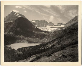 Grinnell Lake and Grinnell Glacier, Glacier National Park