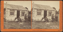 """Cottage at Port Ludlow, W. T."" (Stereograph 5260)"