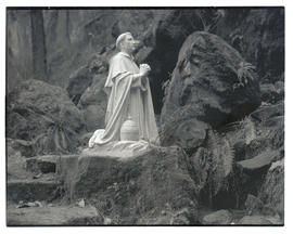 Statue of Saint Philip Benizi at The Grotto in Portland
