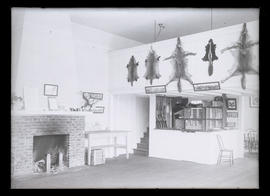 Interior of Portland Gun Club building