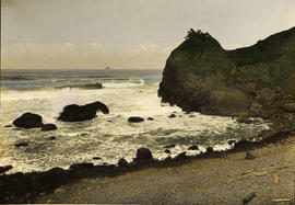 Ecola Point, Cannon Beach, Oregon, circa 1910