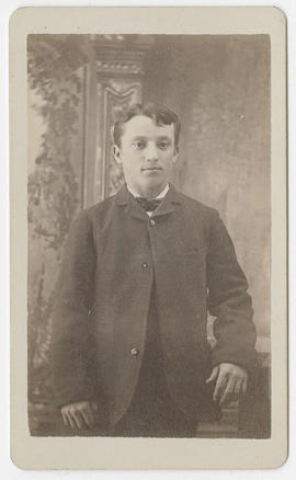 Unidentified young man