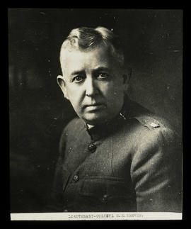 Lieutenant Colonel G. E. Breece