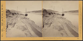 """View on the Columbia River, from Celilo"" (Stereograph 1334)"