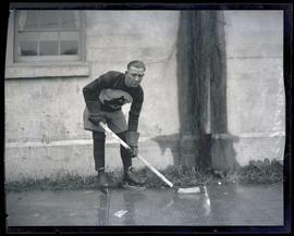 Babe Morrison, hockey player for Portland Buckaroos