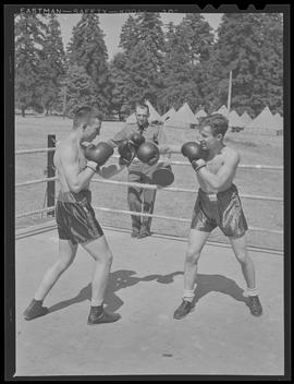 Boxing match at Fort Vancouver