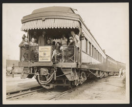 Pacific Northwest American Legion Railroad Car
