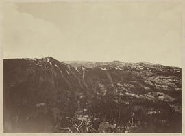 """Mt. Lola. Looking towards Round Top. (R.T. not visible)."" (Mammoth 1263)"