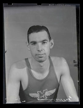 Merryman, athlete with Multnomah Athletic Club