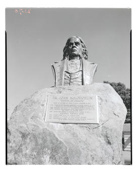 Bust of John McLoughlin