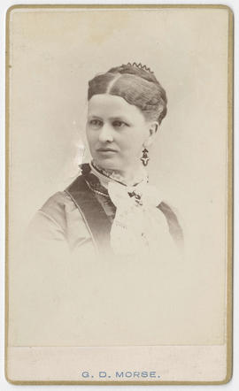 G. D. Morse portrait of an unidentified woman