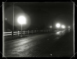 Night view, Terwillinger Boulevard