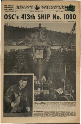 The Bo's'n's Whistle, Oregon Shipyard Edition, Volume 05, Number 11