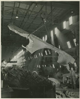 Interior view of Columbia Steel Casting Company